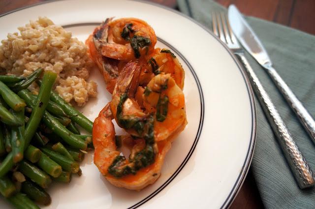 Sriracha-Buttered Shrimp Recipe — Dishmaps