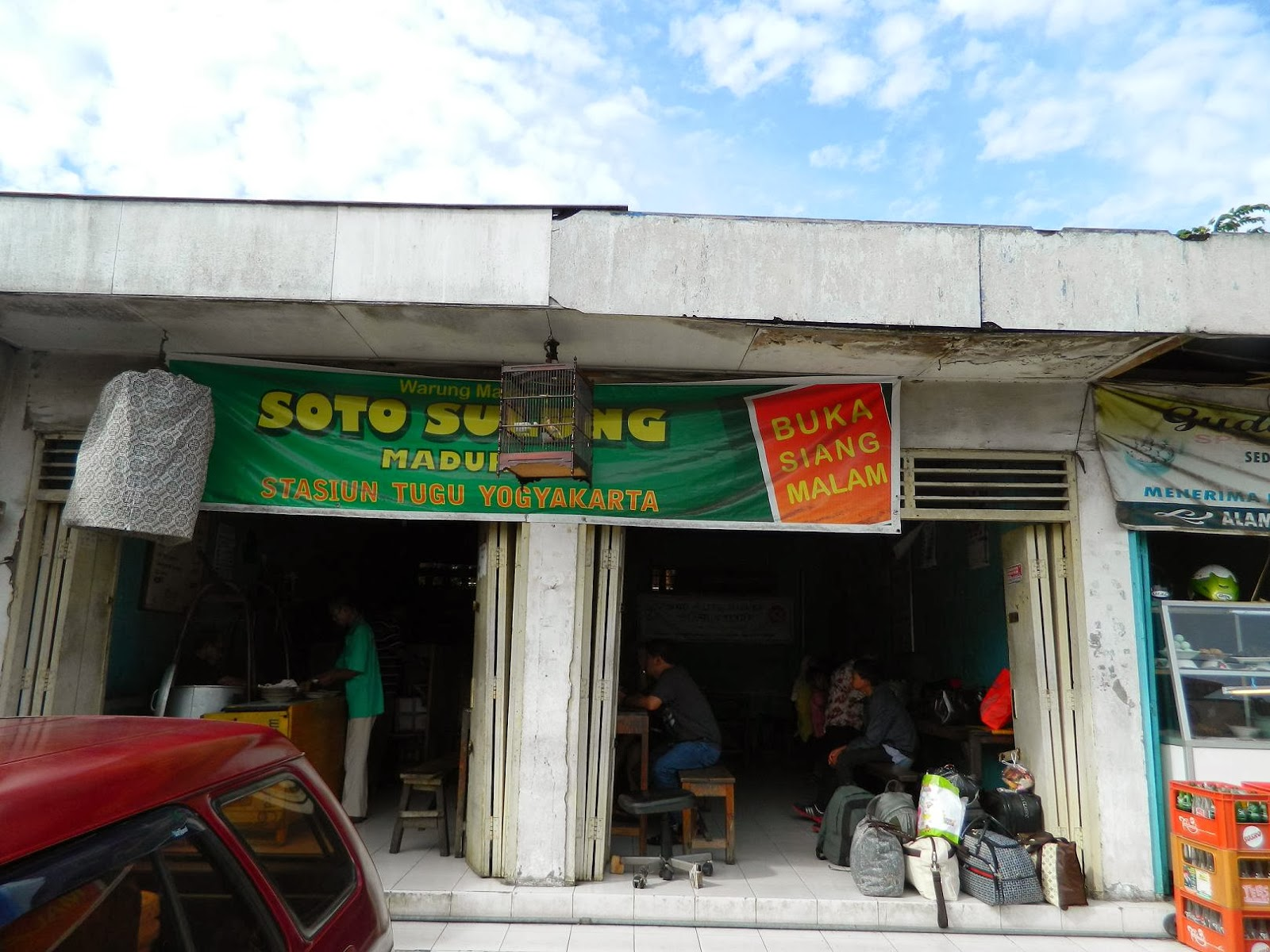 tempat makan soto sulung stasiun tugu yogyakarta