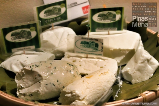 Assortment of Malagos Cheeses