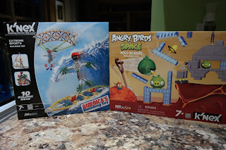 K'NEX Building Sets: Extreme Sports & K'NEX Angry Birds Red Planet Building Set: HOGS ON MARS