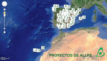 Proyectos de ALLPE Medio Ambiente - Consultoria Ambiental - Empresa de Medio Ambiente