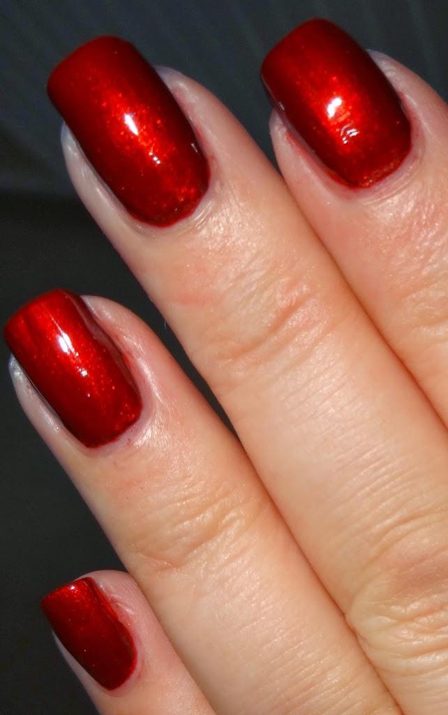 Wendy\'s Delights: Born Pretty Store Classic Red Nail Polish