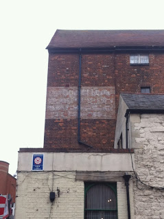 Ghost sign in Oxford