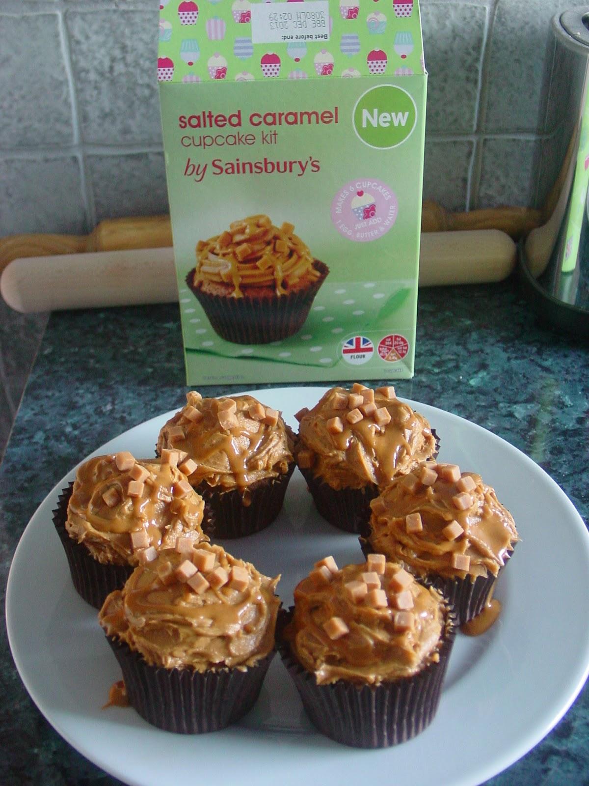 Caramel cupcake recipe with cake mix