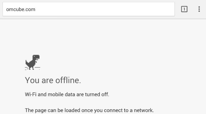 Google Chrome randomly says there is no Internet ...