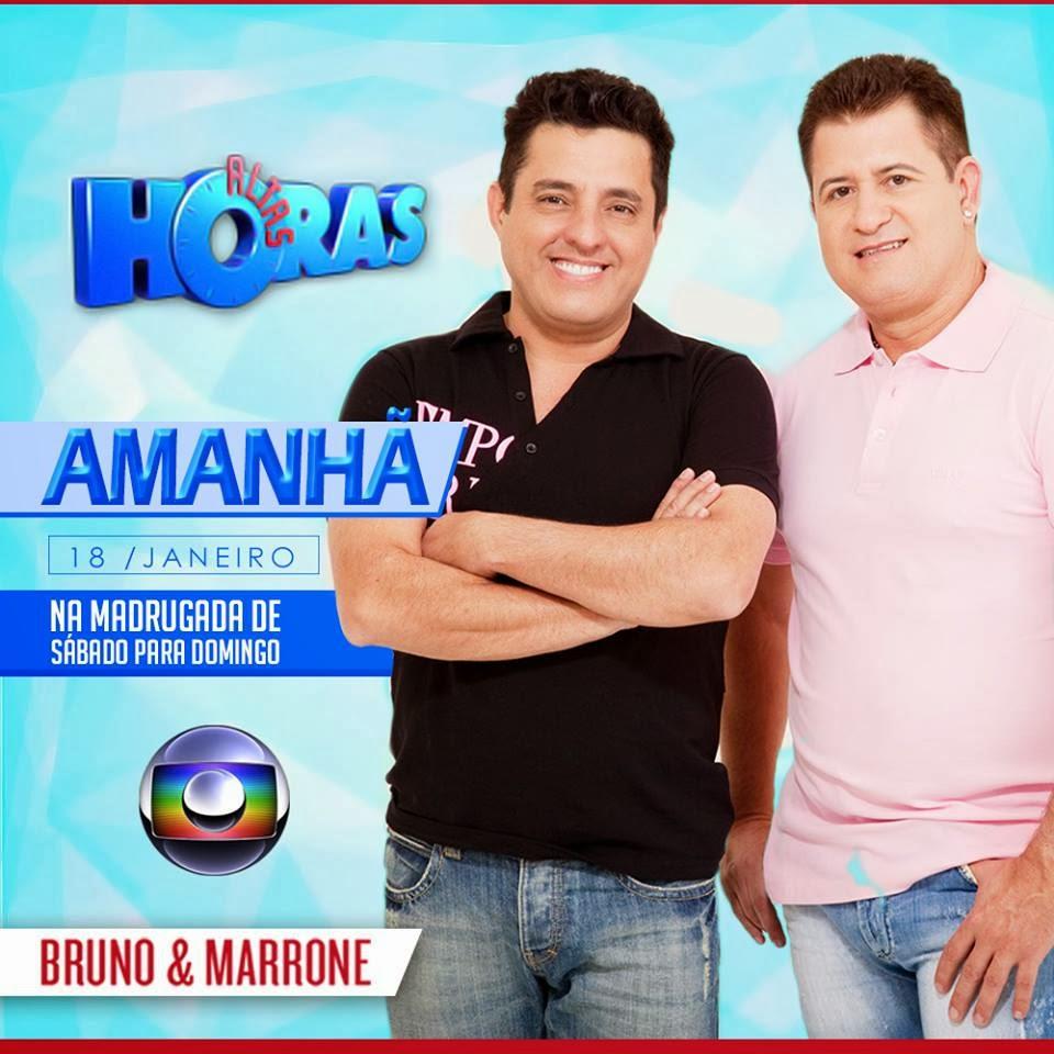 """Bruno e Marrone vão marcar presença no 'Altas Horas"""" deste sábado (18)"""