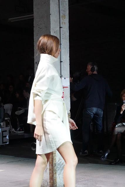 Pokaz mody, Lille, Francja, 2015 - projektant: Sainte Courtisane