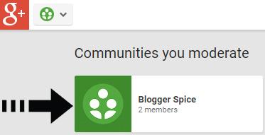 Blogger Spice community