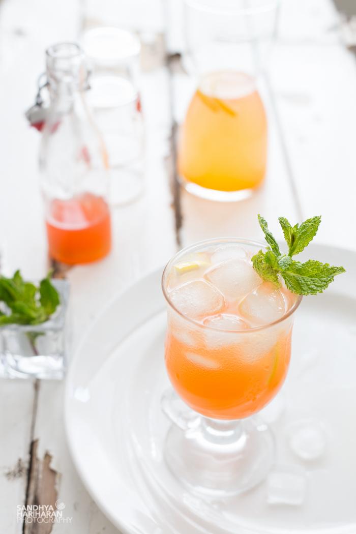 Beverage   Fresh Peach Lemonade