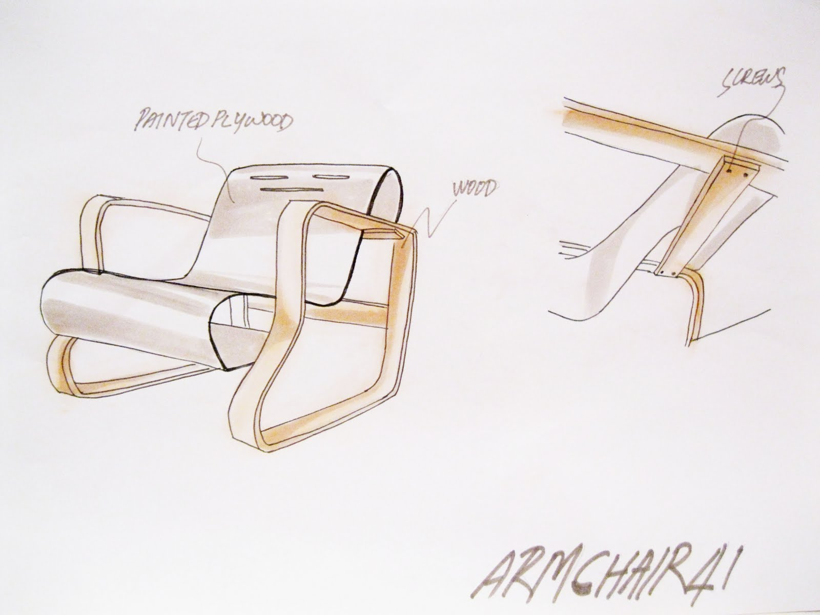 Furniture Design Sketches