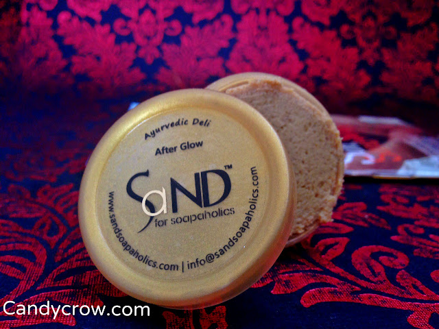 Sand for soapaholics - After glow review