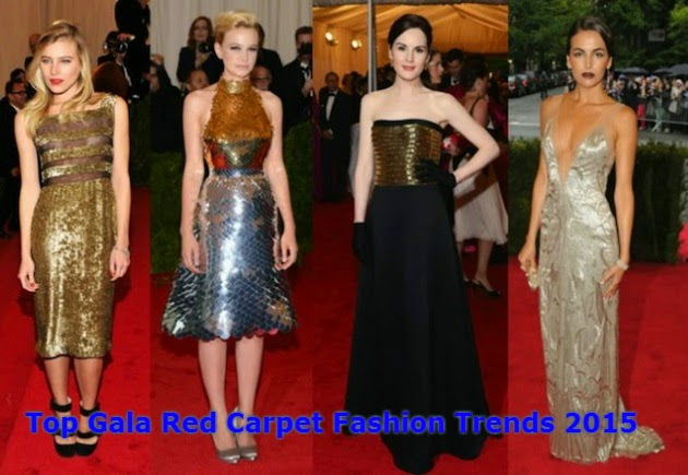 Top Gala Red Carpet Fashion Trends 2015