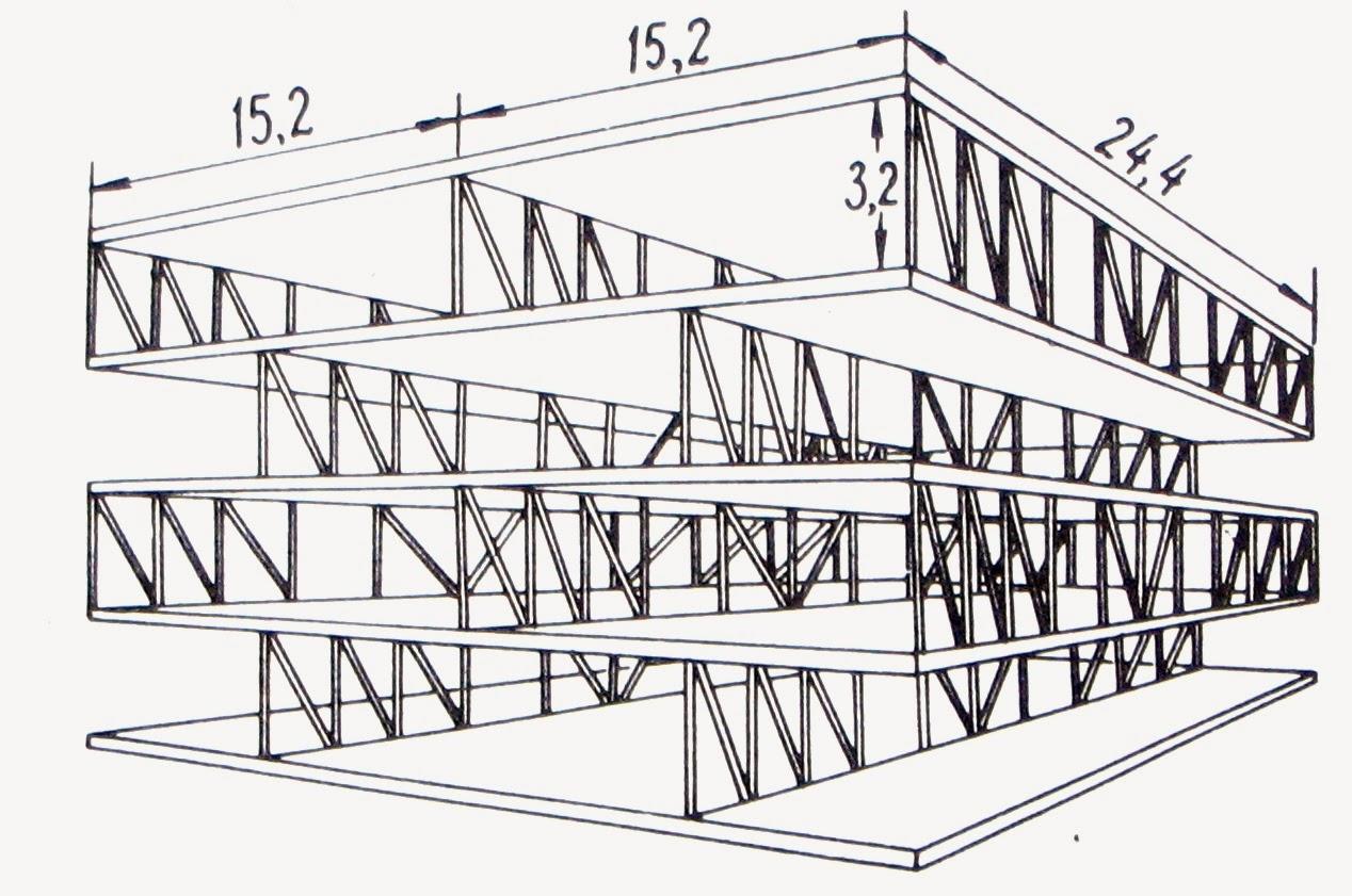 Задачу расчета пластинчато-стержневых систем