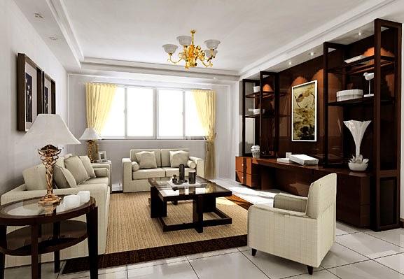 Model Interior Ruang Tamu Elegan