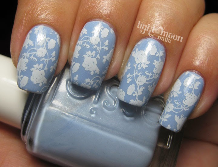 Light Of The Moon Nails Tea Cup Inspired Nail Art