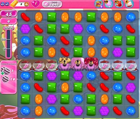 Candy Crush Saga 1045