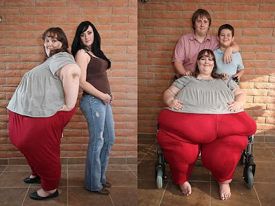 世界最胖的美女 700公斤 Susanne Eman
