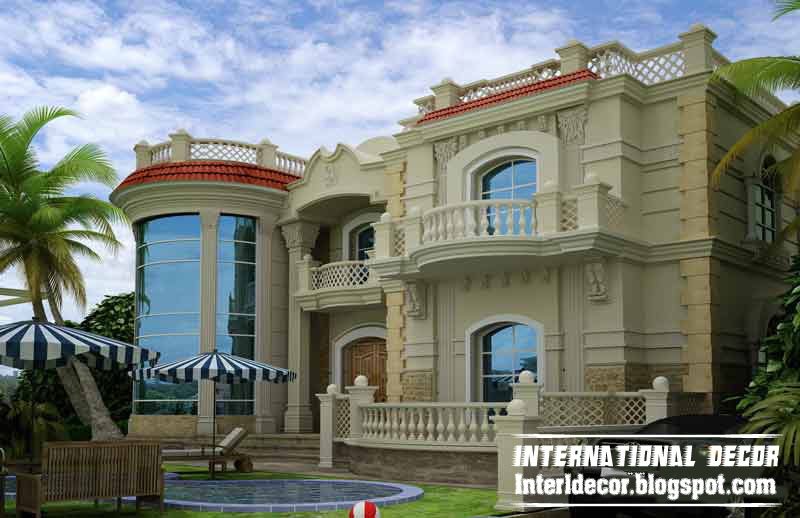 International villas designs modern villas designs Modern villa plan
