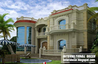 International villa design with modern ideas, contemporary villa design