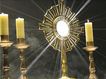 Adoración Eucarística en vivo y en línea al Hijo de la Madre de Dios, Jesús Eucaristía