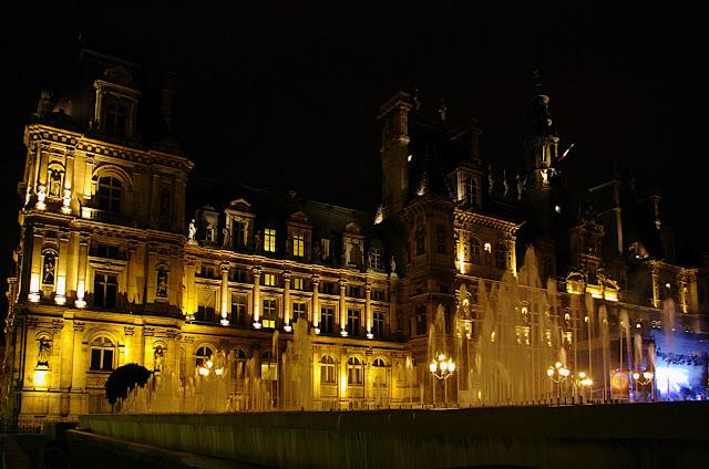 L'hôtel de ville Paris poze