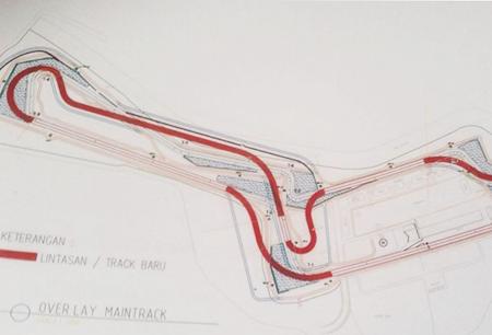 Desain Sirkuit Sentul Moto GP