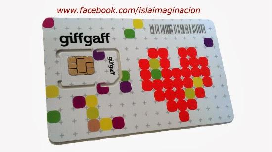 Tarjeta SIM giffgaff