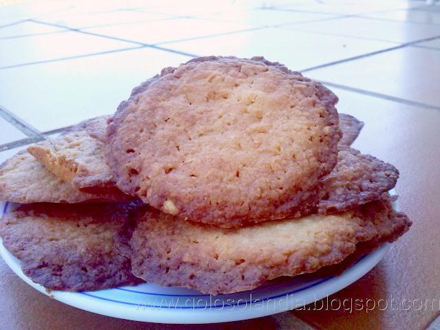 Galletas caseras de queso