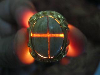 cara mengenali batu tapak jalak asli