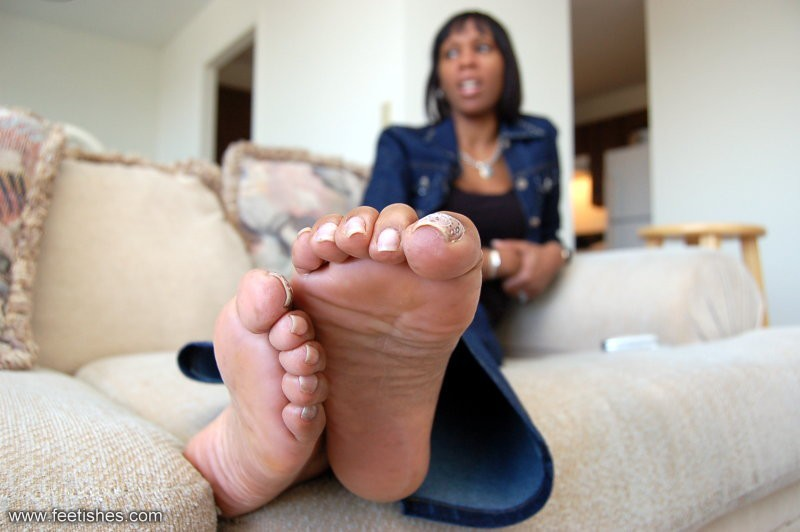 ebony feet videos