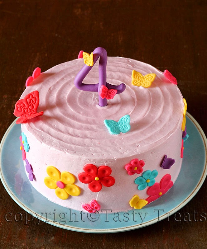 The Birthday Cakes and a recipe for White Chocolate Swiss Meringue Buttercream