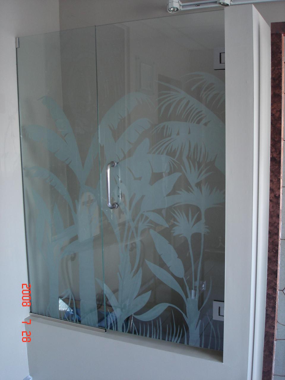 Puertas Para Baño Cr:vitrales Arenados Puertas Para Baño: Puertas Para Baños