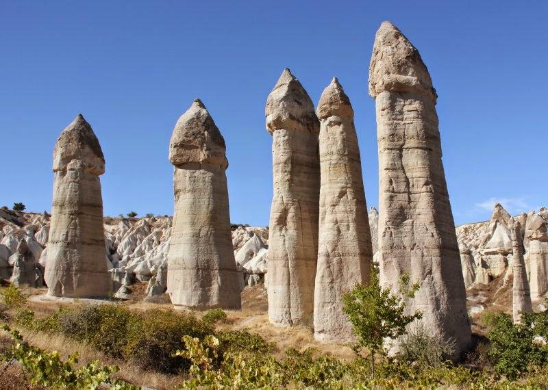 Las Chimeneas de Hadas en Capadocia Turquia