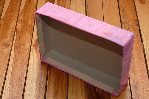 como hacer una casa de muñecas con carton