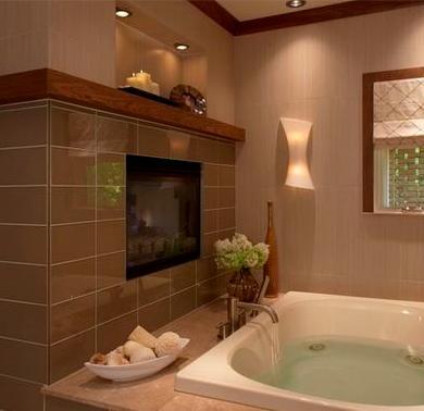 Ba os modernos dise os interiores de casas for Disenos de banos de casas modernas