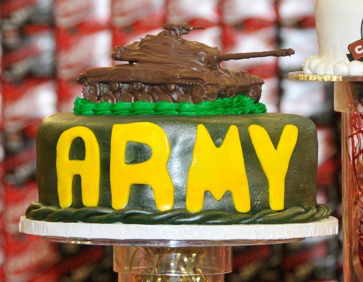 Commissary Birthday Cake
