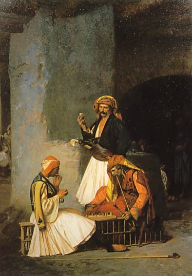 Arnauts playing Chess(Egypt)