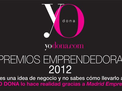 Premios Emprendedoras 2012