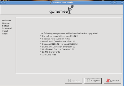 como instalar gametree linux o substituto do cededa, aprenda como instalar o gametree linux