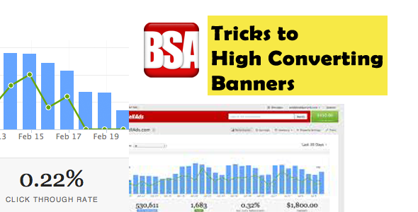 Tricks to Increase CTR of  BuySellAds Banner Campaign