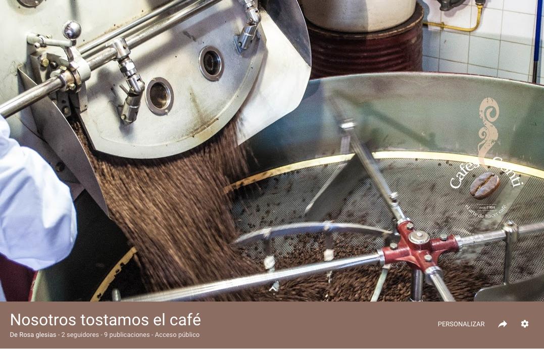 NOSOTROS TOSTAMOS CAFE