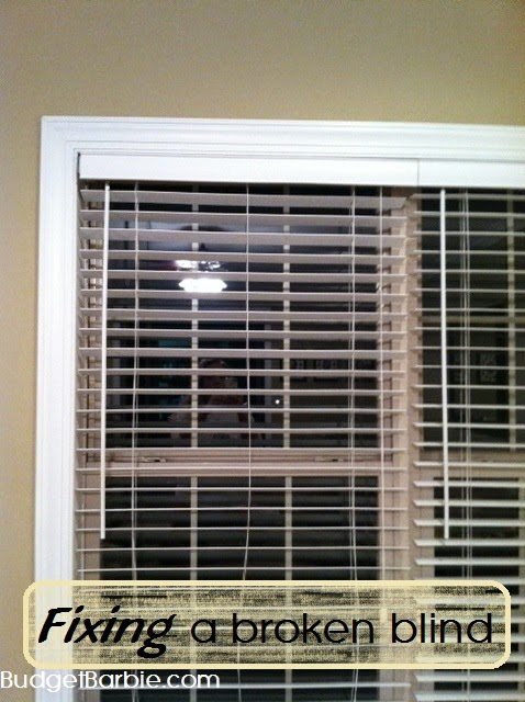 how to clean wood blinds strings