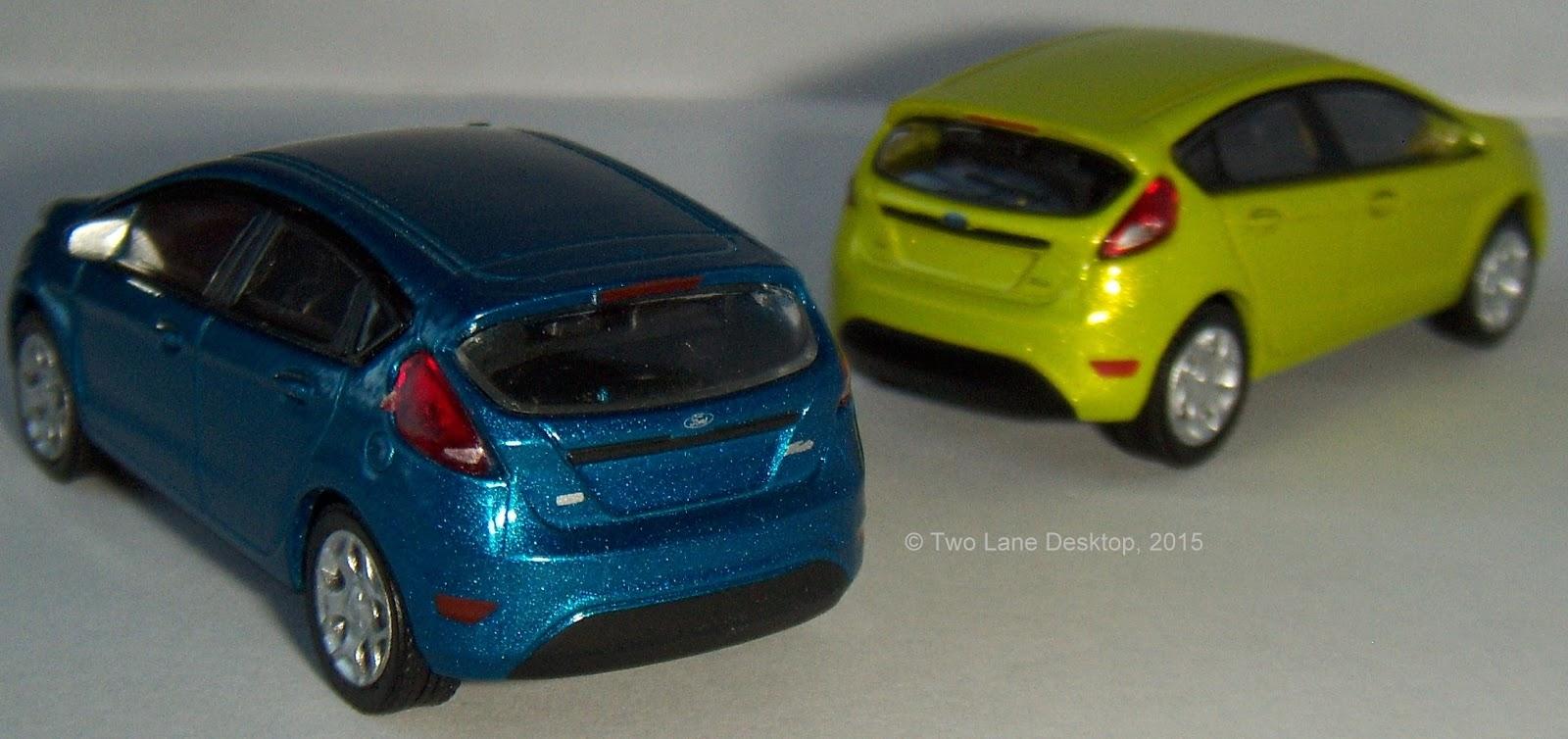 Two Lane Desktop Hot Wheels And Greenlight 2012 Ford Fiesta