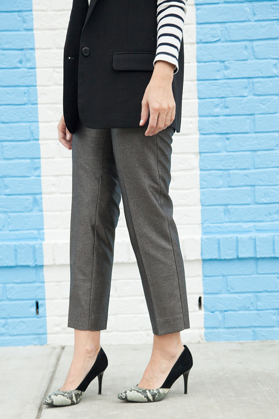Here&Now: J.Crew Factory skimmer trousers