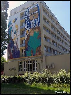 Mural na Uniwersytecie Jagielońskim