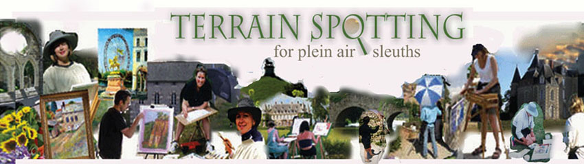 TERRAIN SPOTTING  for Plein Air Sleuths