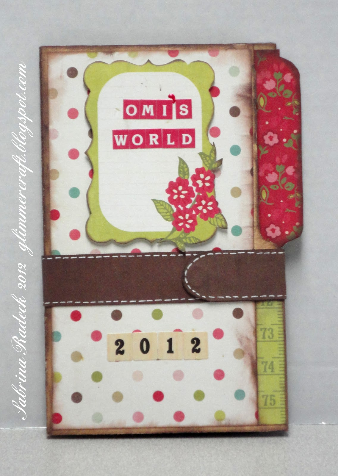 How to make scrapbook easy - Yes It Is Quick And Easy Once You Ve Made One You Could Probably Make One In An Afternoon If You Don T Get Too Elaborate That Is It S All In How You