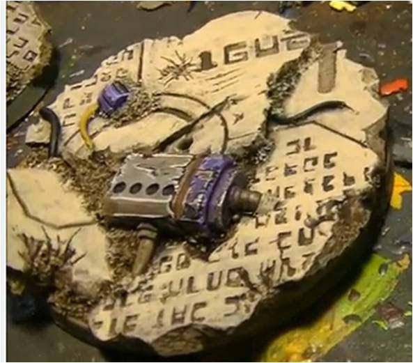Cómo pintar ruinas Tau