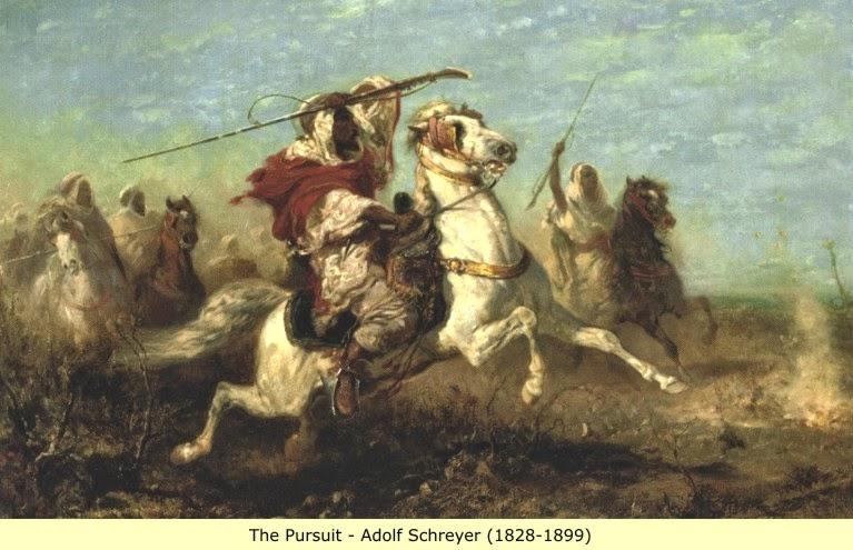 Arab berperang