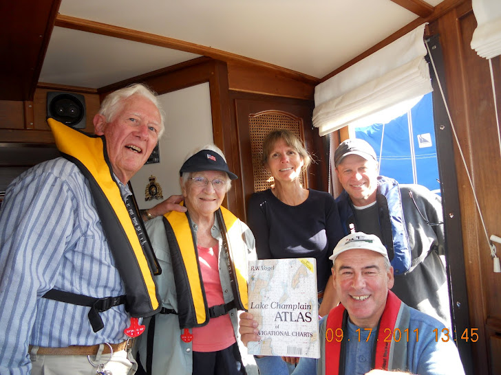 MEETING THE AUTHOR OF LAKE CHAMPLAIN ATLAS OF NAVIGATIONAL CHARTS